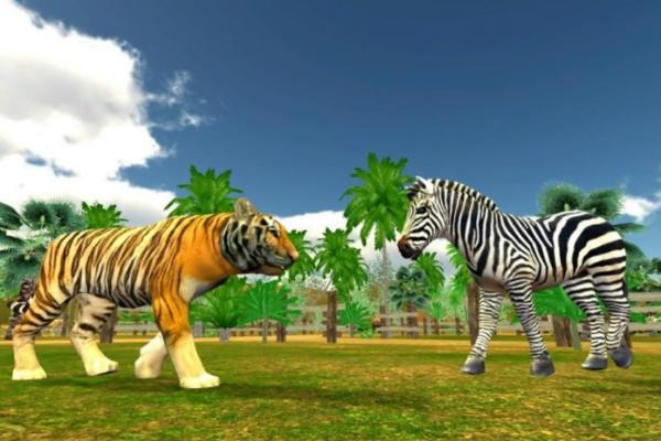 VRZoo: Amazon Jungle Animals