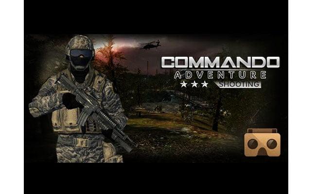Commando Adventure Shooting VR