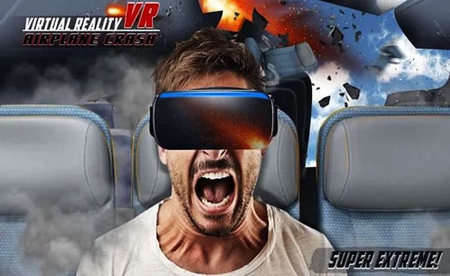 Virtual Reality Airplane Crash VR1