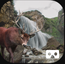 Waterfall Hunting VR Cardboard