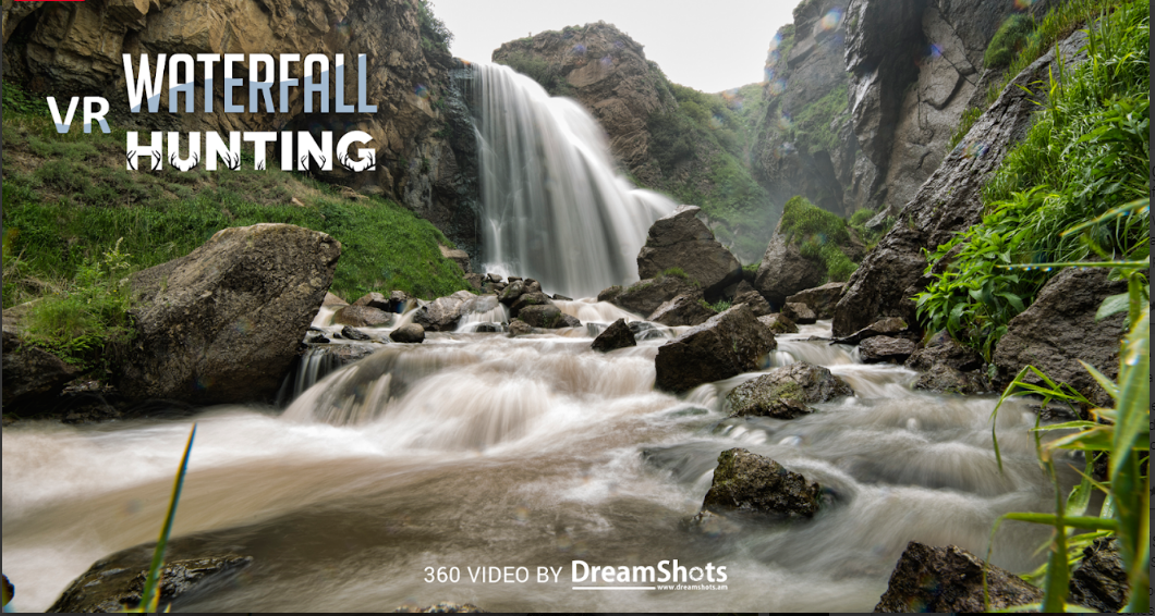 Waterfall Hunting VR