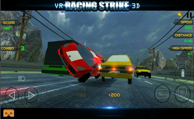 VR Car Racing Videogame: Racing Strike 3D VR